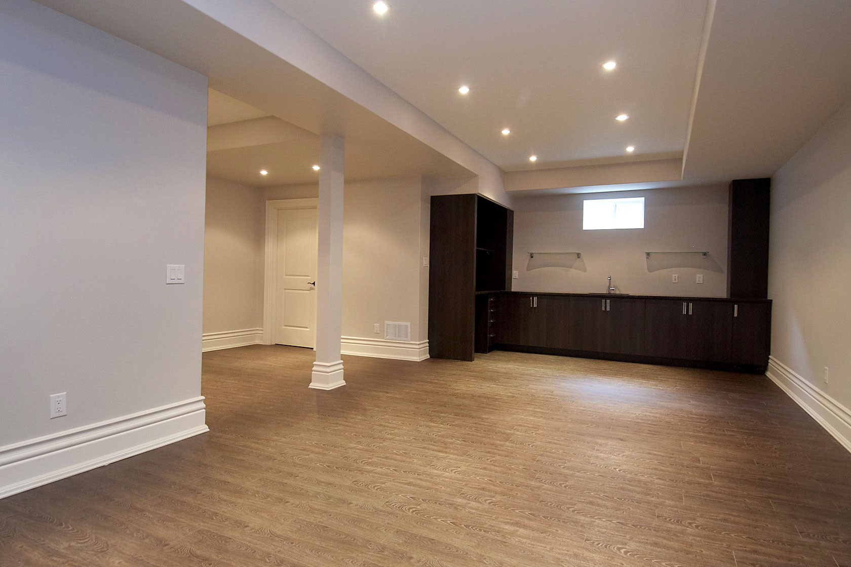 Basement Renovation Project in Etobicoke