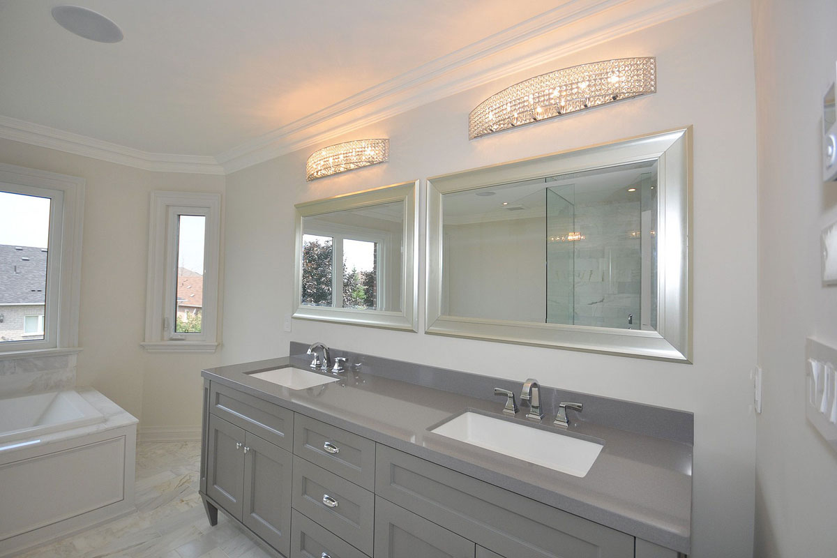 What are some good basement lighting ideas the reno pros for Bathroom improvements