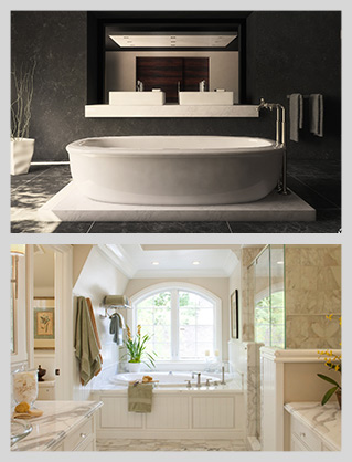 Contemporary and Traditional Bathroom Renovation