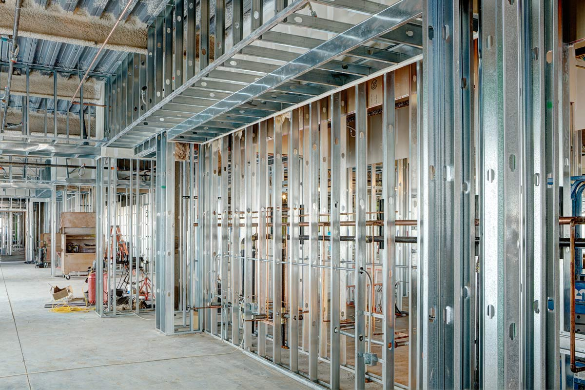 Commercial Steel Office Construction