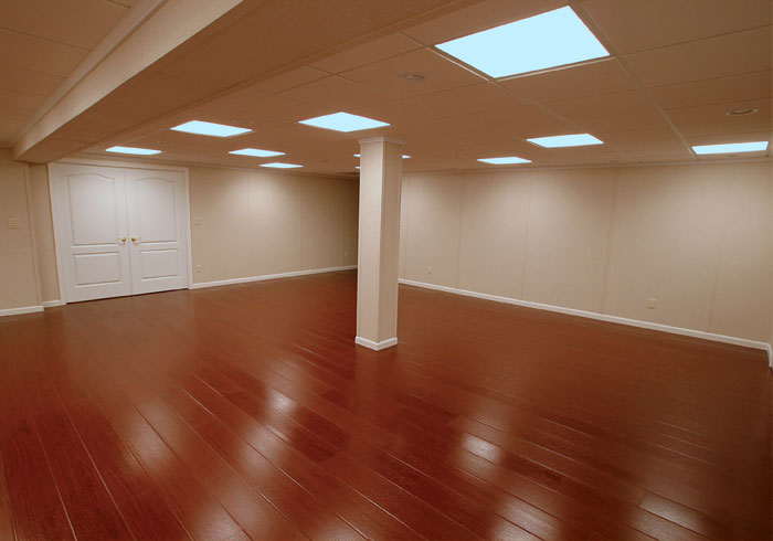 If i m looking to renovate my basement flooring what are for Basement flooring options