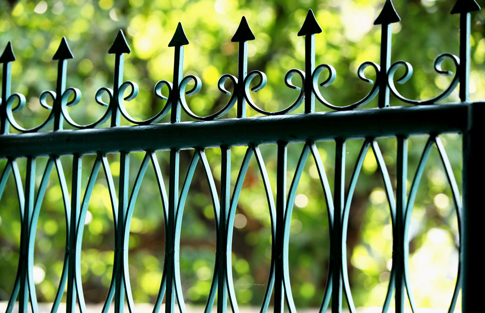 Iron Fences Header